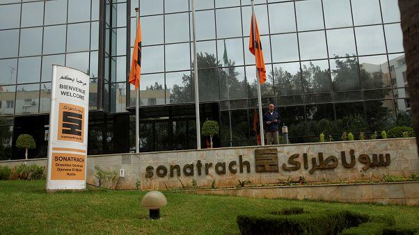 المقر الرئيسي شركة سوناطراك الجزائرية في العاصمة الجزائر