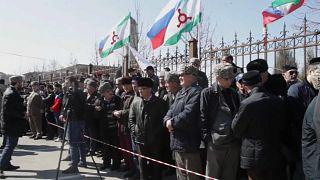 Новые протесты в Ингушетии