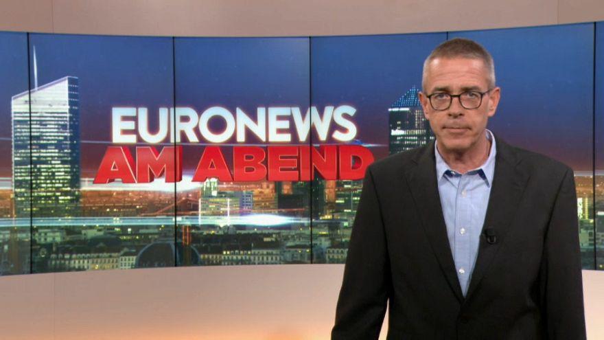 Euronews am Abend vom 26.03. - mit umstrittener Copyright-Entscheidung