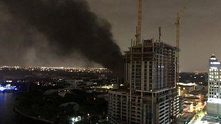 ABD'de trafoda çıkan yangın nedeniyle Fort Lauderdale kenti karanlığa gömüldü