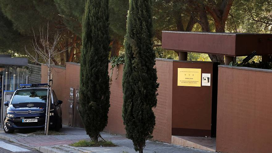 North Korea's embassy in Madrid