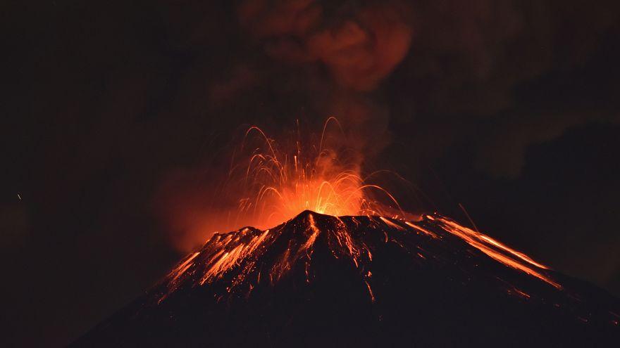 صورة أرشيفية لبركان بوبوكاتبتل في المكسيك