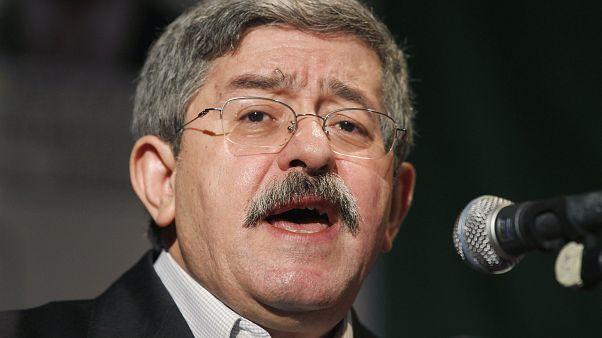 زعيم التجمع الوطني الديموقراطي ورئيس الحكومة السابق أحمد أويحي