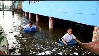Alerta en el Amazonas peruano por las fuertes lluvias