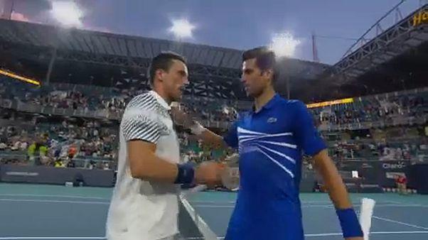 Djokovic e Tsitsipas eliminados em Miami