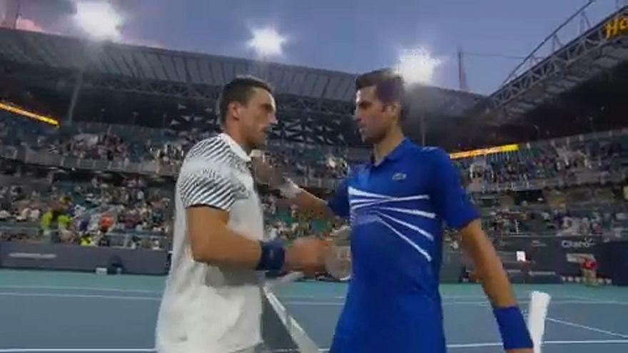 Roberto Bautista-Agut o la 'bestia negra' de Novak Djokovic