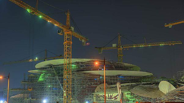 """افتتاح متحف قطر الوطني """"وردة الصحراء"""" في الدوحة"""