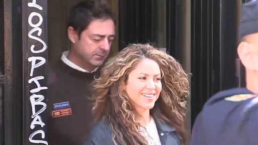 Shakira ouvida em tribunal por acusações de plágio