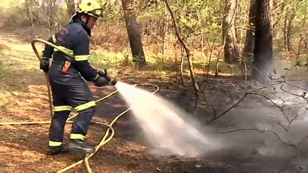 Extinguido el incendio de Rianxo tras quemar más de 850 hectáreas