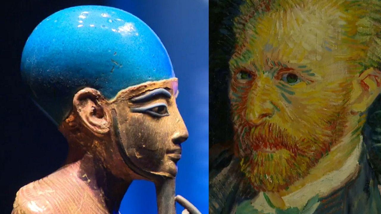 Mit Van Gogh, Toulouse-Lautrec, Tutanchamun quer durch Europa
