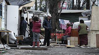 حمله به کولی ها در پاریس