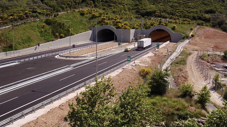 Nova autoestrada grega reduz mortalidade