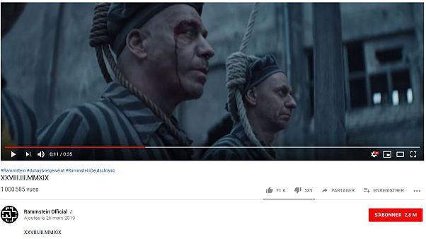 1 Mio. Klicks für umstrittenes Rammstein-Video mit KZ-Häftlingen