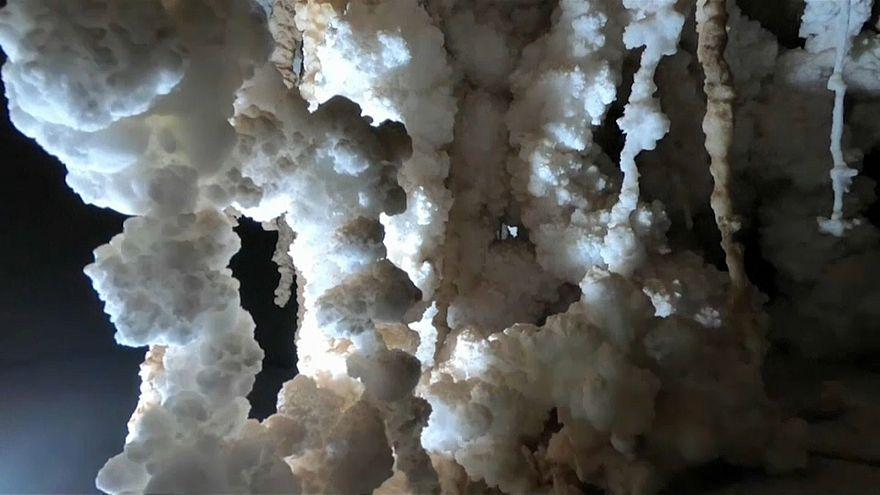 In Israele la grotta di sale più lunga del mondo