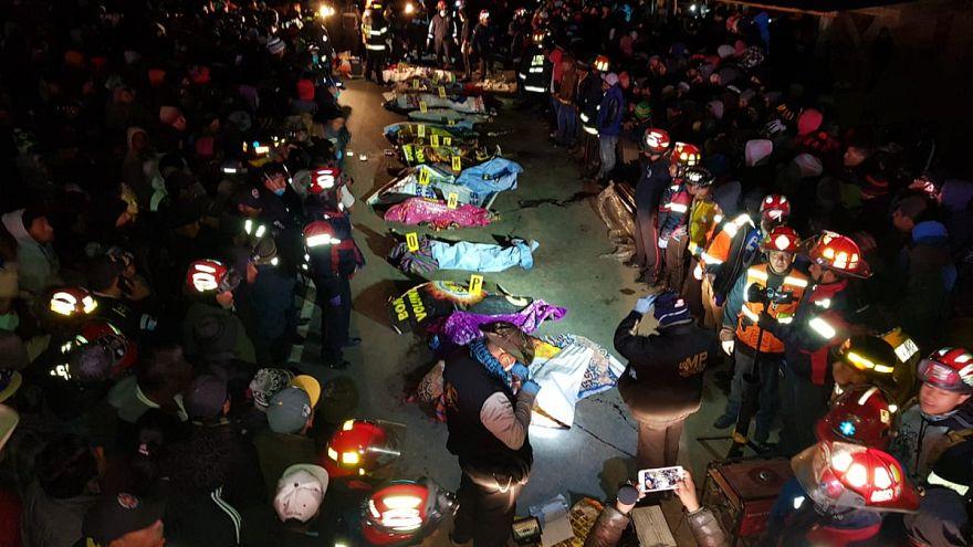Guatemala'da trafik kazası: En az 30 ölü, 4 yaralı