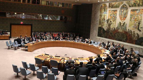 BM Güvenlik Konseyi toplantısı