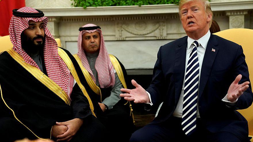 Trump Mart ayında Beyaz Saray'da Veliaht Prens Selman'ı ağırladı