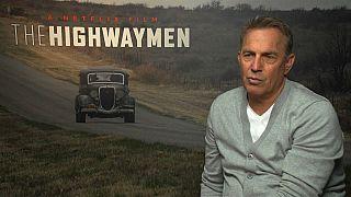 Kevin Costner encarna al agente que capturó a Bonnie y Clyde