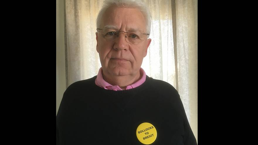 Meet the man 'detained at Gatwick for wearing an anti-Brexit badge'