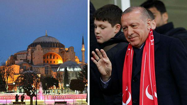 اردوغان: زمان تبدیل موزه ایاصوفیه به مسجد فرا رسیده است