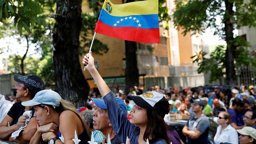 Rassemblement au Venezuela