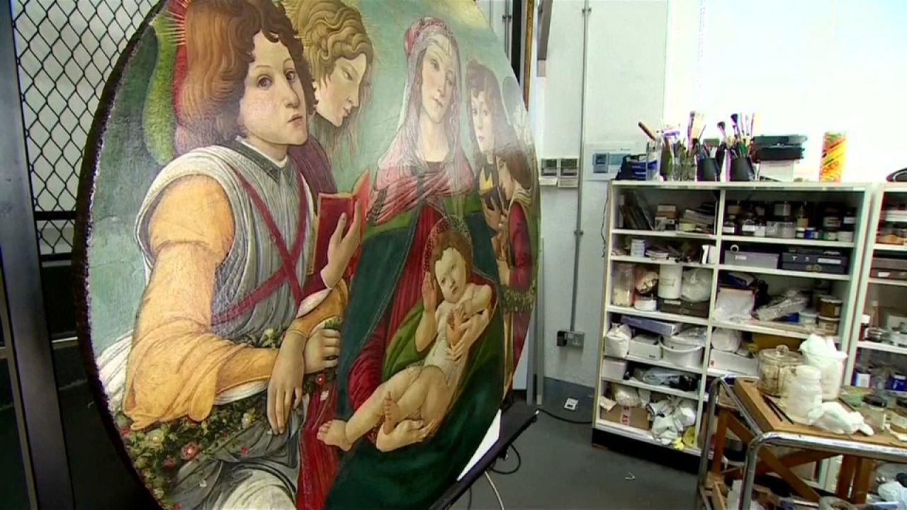 Conservadores británicos revelan un Botticelli auténtico