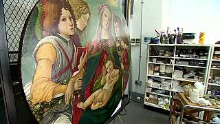 شاهد: لوحةٌ يتَّضح بعد تنظيفها أنّها أصليّة وللفنان الإيطالي بوتيتشيلي
