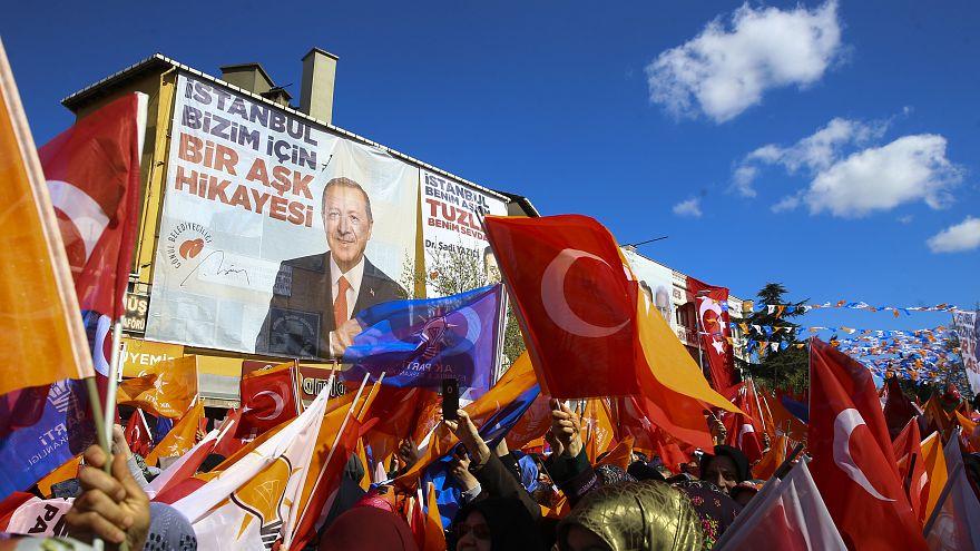 31 mart yerel seçimler AK Parti mitingi