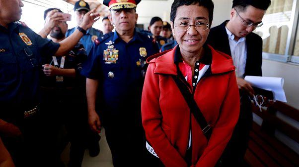 Filippine, arrestata la giornalista dissidente Maria Ressa