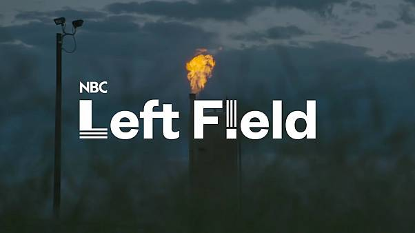 Texas is on fire with polluting flares from fracking | NBC Left Field