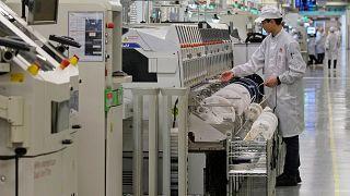 Huawei üretim merkezi Guangdong, Çin