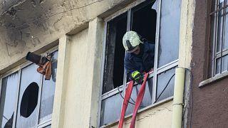 Ankara'da çıkan yangında 5 kişi hayatını kaybetti 11 kişi yaralandı