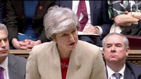 El Parlamento británico rechaza por tercera vez consecutiva el acuerdo de Brexit de Theresa May