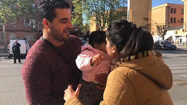 A NAGY UTAZÁS: menekültként spanyol földön