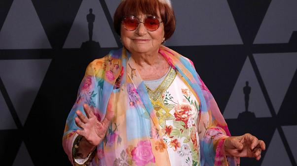Agnes Varda at 9th Governors Awards, Los Angeles, 2017