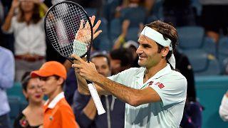 Roger Federer im Halbfinale der Miami Open