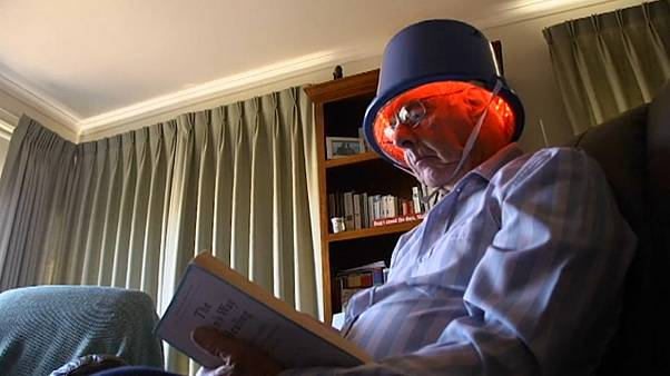 The infrared helmets are now the subject of a clinical trial