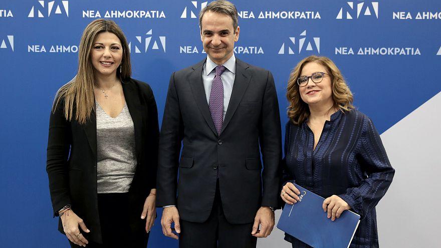 Αλλαγή φρουράς στη Νέα Δημοκρατία - Η Σοφία Ζαχαράκη νέα εκπρόσωπος Τύπου