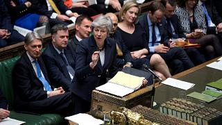 No-deal Brexit fears rise as MPs defeat May's deal for third time