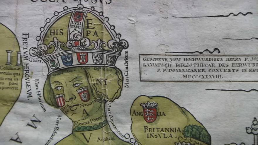 Europa als Königin: Älteste Karte des Kontinents gefunden