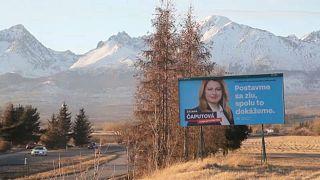 Elnököt választ Szlovákia szombaton, Zuzana Čaputová az ország első női államfője lehet