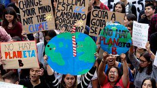 Manifestación por el planeta en Valparaíso, Chile. 15 de marzo 2019.