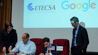 Google und Kuba wollen zusammenarbeiten