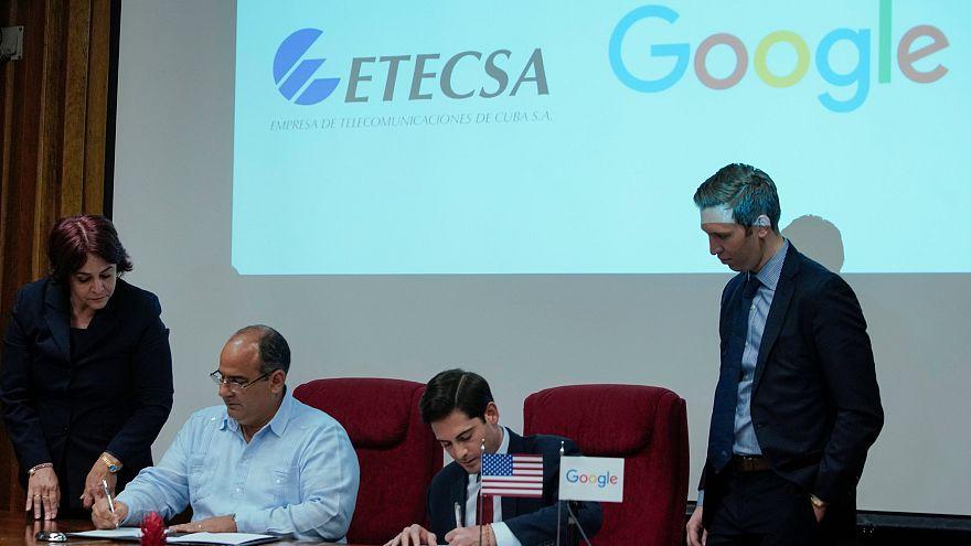 Google desenvolve internet em Cuba
