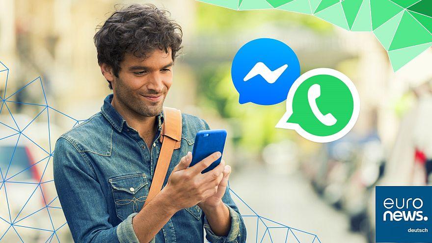 Direkt aus der Redaktion: Euronews auf WhatsApp und FB Messenger