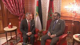 ملكا المغرب والأردن يرفضان الإجراءات الإسرائيلية ويعتبران ضم الجولان باطلا