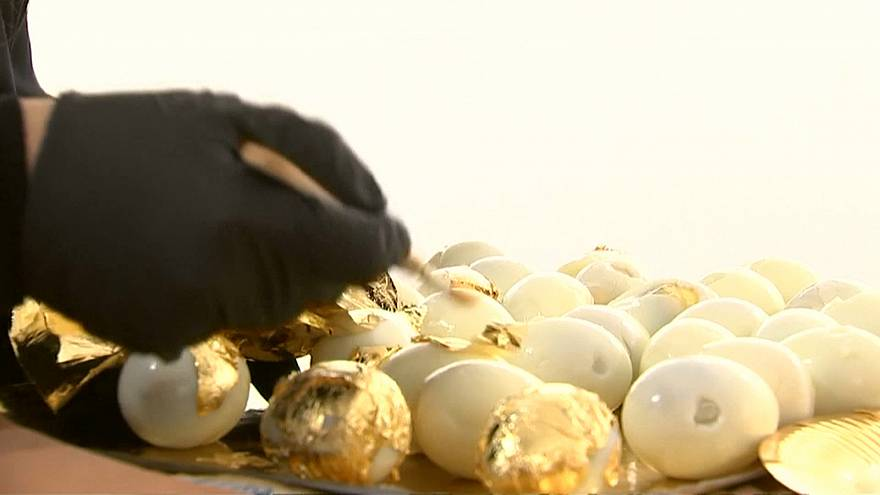 Paris: Goldbedecktes Menü für 20 Gäste