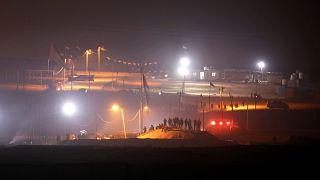 """غزة: """"وحدات إرباك ليلي"""" تصعد التوتر عشية إحياء الذكرى الأولى لاحتجاجات الفلسطينيين"""