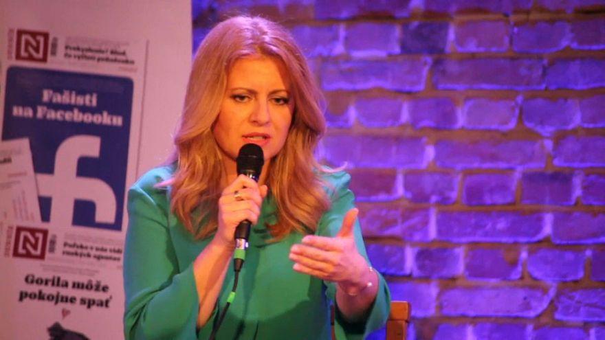 Eslováquia pode eleger este sábado a primeira mulher para a presidência