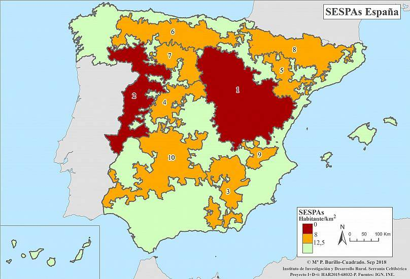 Spain In Map Of World.The Revolt Of Empty Spain Why Is Spain S Rural World Protesting
